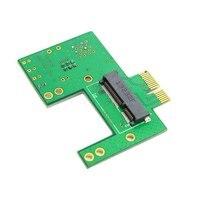 50 pcs/lots Mini PCI-e 52pin Prise à PCI-e Express Or Contacter Adaptateur PCBA Pour Sans Fil Cartes, par UPS DHL