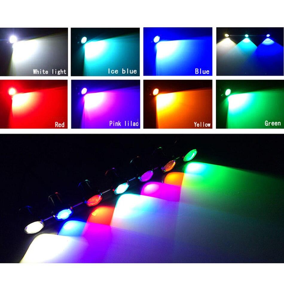 LEADTOPS 10Pcs / Lot Gəliş 10W 12V 5730 LED Qartal Göz 3 SMD LED - Avtomobil işıqları - Fotoqrafiya 4