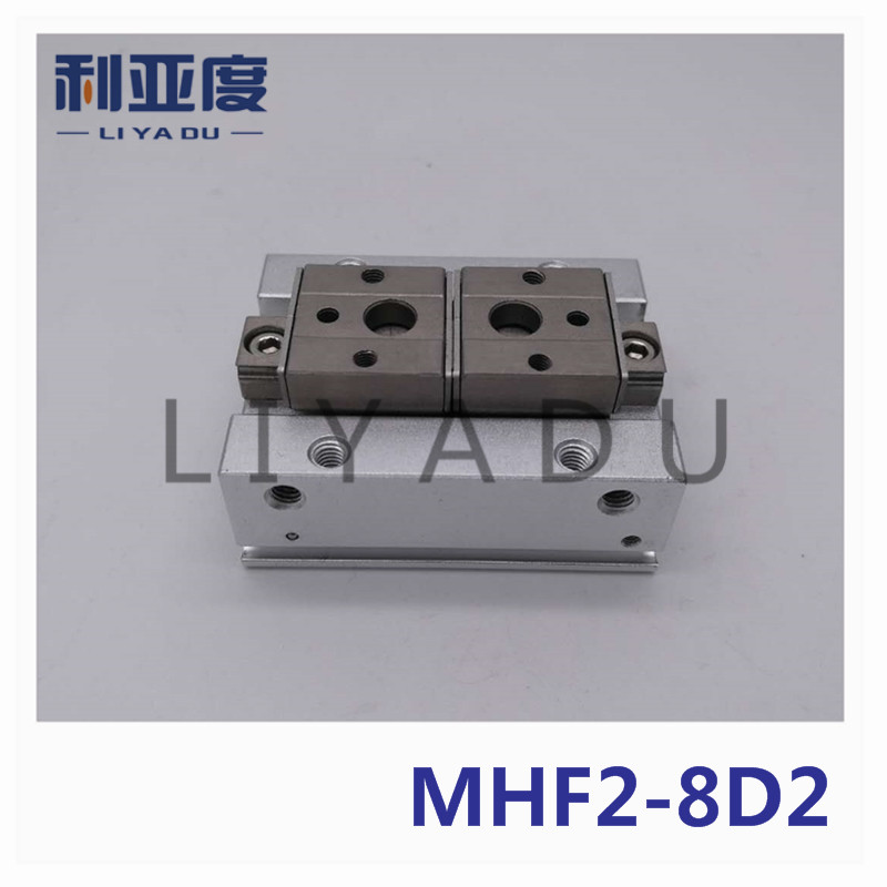 MHF2 8D2 Pneumatic thin air claw Bore size 8mm SMC type with Long stroke
