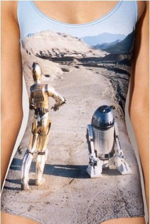 New Summer Sexy Swimsuit STAR WARS