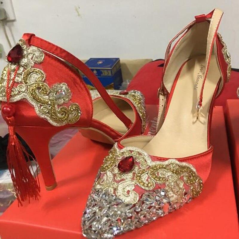 Pumps Frauen 8cm Cm 11 8 6 Red Rot Perlen Spitze Cm Cm 8cm Kleid Hochzeit Braut Cm Schuhe Blumen Plattform 14 Heels Weiß Sandals Süße High Mode Pumpt 0FCnFq4w