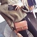 Новый 2016 Clain Замок Женская Мода CrossBody Сумка Кошелек Сумки на ремне Простой Маленькую сумочку Женщины Сумка Почтальона Сумочки Bolsas Mujer A651B