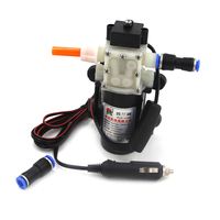 12V 24V Oil Pump Gasoline Professional Electric Vehicle Mounted Kits Cigarette Lighter Type Self Priming Electric