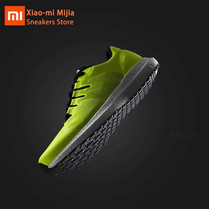 Xiaomi Mijia Hot Amazfit Marathon Training Sneaker Lightweight Breathable Stable Sport Shoes Low-top Couple Shoes