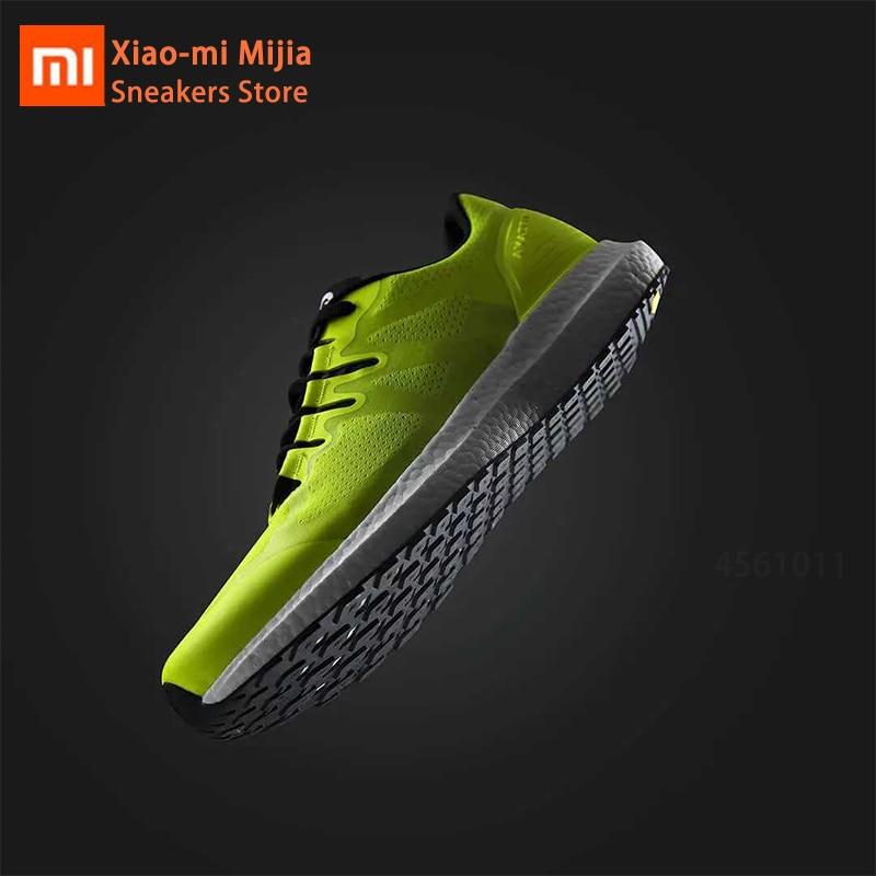Xiaomi Mijia chaud Amazfit Marathon entraînement Sneaker léger respirant chaussures de Sport stables bas-top Couple chaussures