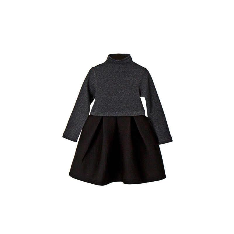 2ef129cee9c4b 2019 Autumn Baby Girl Dress Children Cotton Dress Kids Cute Dress Toddler  Long Sleeve Dress Teenage Party Clothes,#3246