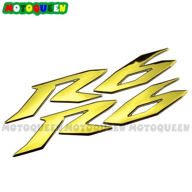 Motor Body Sticker Decal Case For YAMAHA R6 logo YZF-R6 YZF600 Motorcycle Body Shell