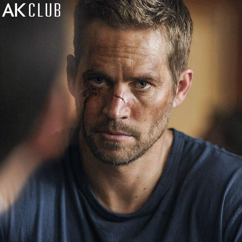 AK CLUB Männer T-Shirt Fast & Furious 7 Paul Walker T hemd...