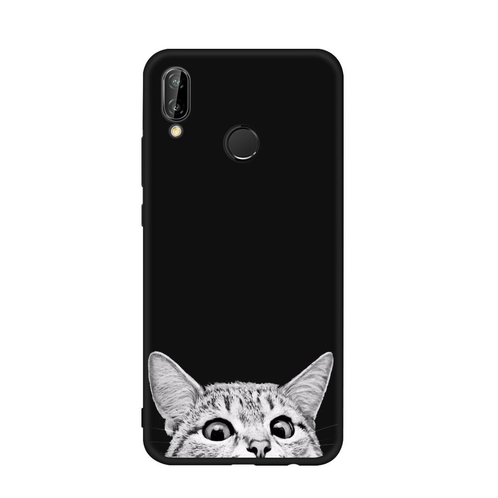 Universe Planet Matte Case For Huawei P8 Lite P9 P10 P20 Mate 10 Lite Y9 Enjoy8 Plus TPU Back Phone Cover Case