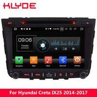 KLYDE 8 Octa Core PX5 4 г WI FI Android 8,0 4 ГБ Оперативная память 32 ГБ Встроенная память dvd плеер радио gps навигации для hyundai IX25 Creta 2014 2017