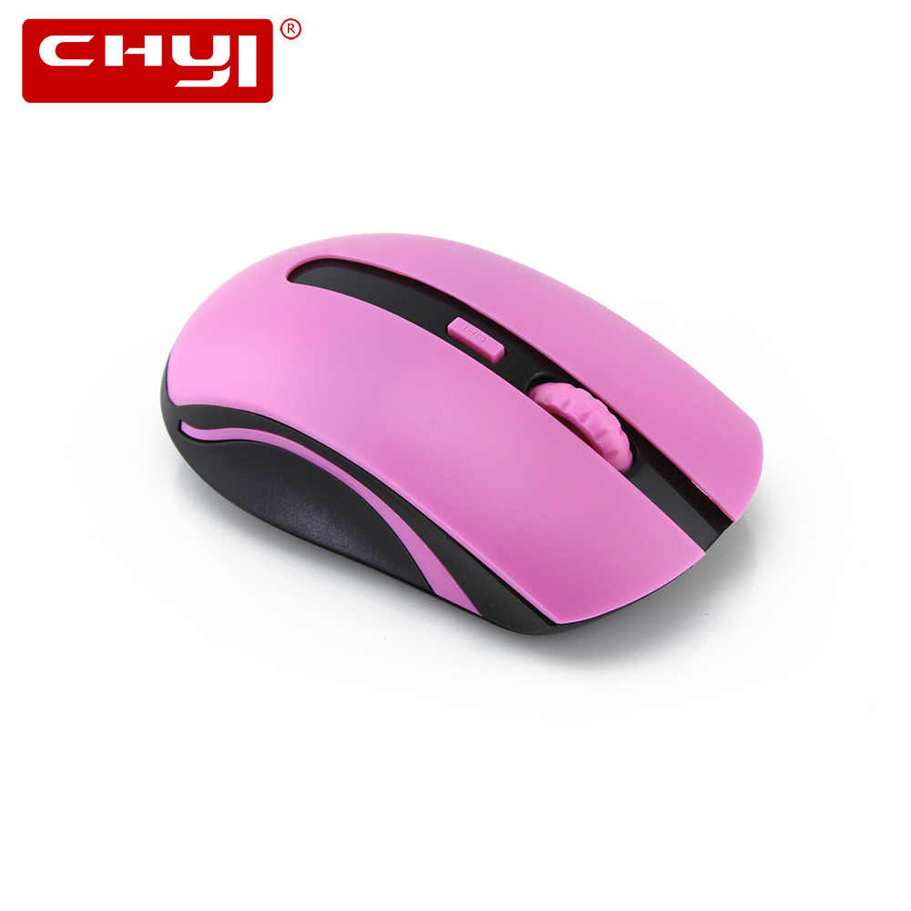 14386d921 CHYI 2.4Ghz Wireless Mouse Gamer 1600DPI USB Optical 4 Buttons Mause Cute Computer  Mice For