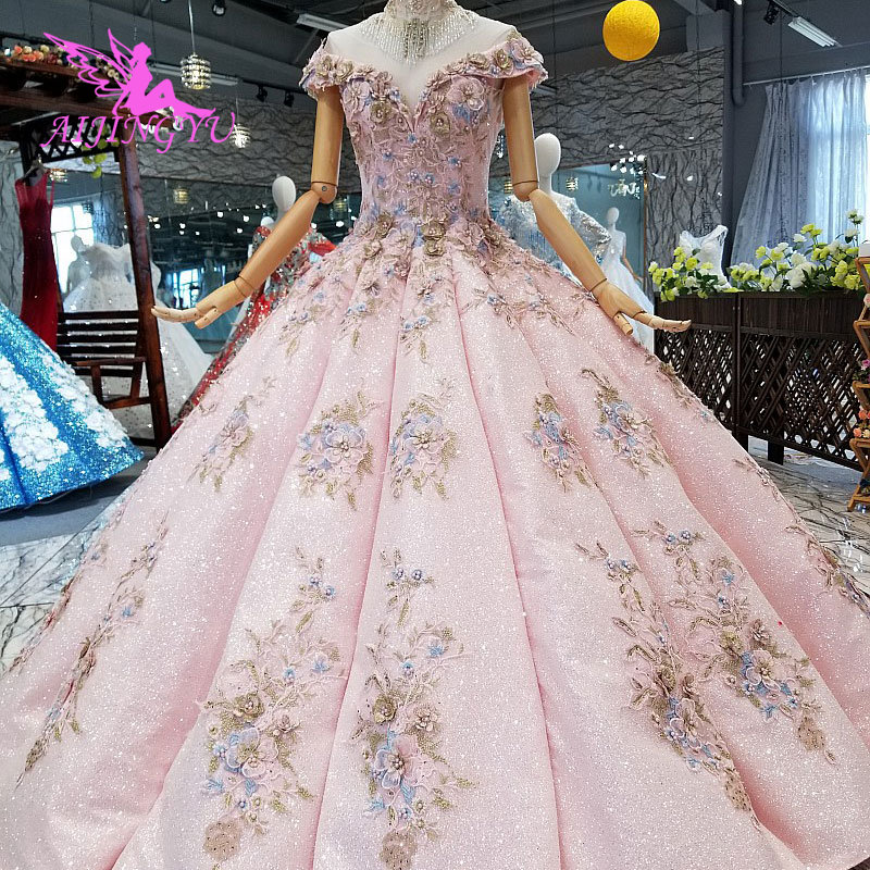 3797db61ec AIJINGYU Marriage Gown Dress Gowns Online Sale China Vintage 2019 With  Ruffles Korean Wedding Dresses 2018
