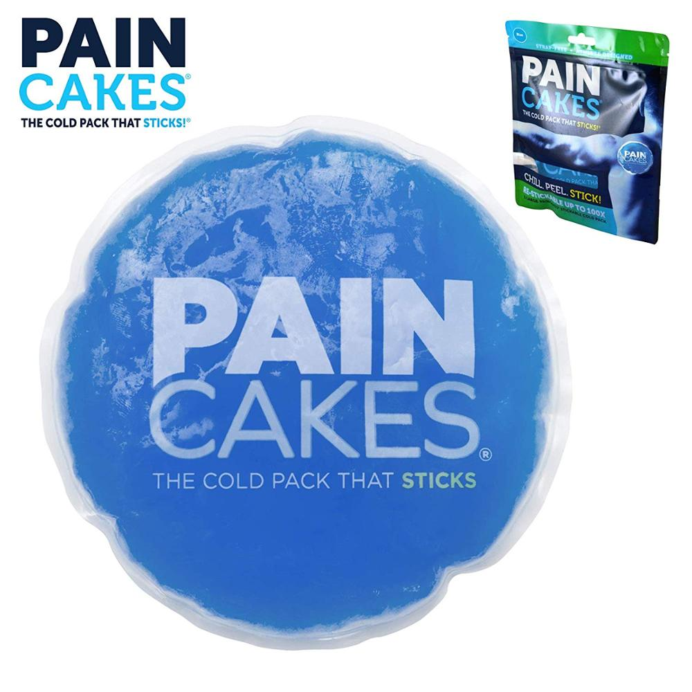 Mini Pain Cake Cold Pack Sticks & Stays In Place Reusable Cold Therapy Ice Pack Conforms To Body For Dropshipping