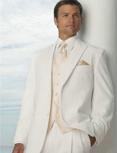 3pcs Mens Business Suit Formal Performance Wear Groom Wedding Tailored  Custom Made