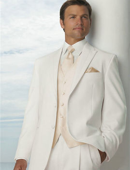 3pcs Mens Business Suit Formal Performance Wear Groom Wedding Suit Tailored  Custom Made