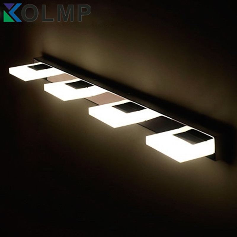 Bathroom Light Fixtures Stainless Steel modern fashion stainless steel bathroom light fixtures led