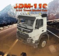 Кабина 1:14 Модель радиоуправляемого грузовика для самосвала tamiya trailer tractor Rally engineering arocs 8X8 6X6