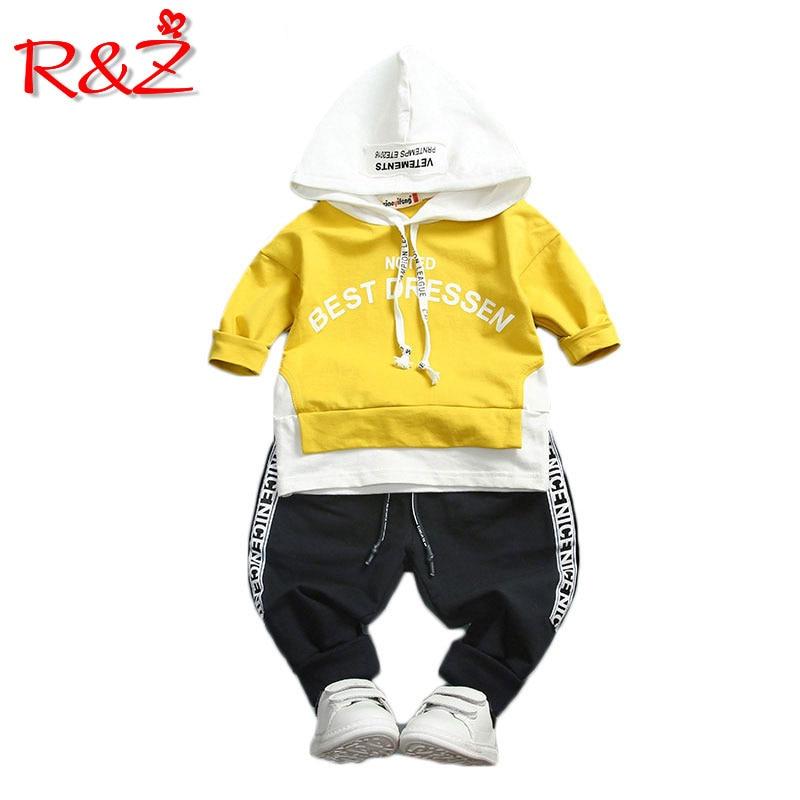 R&Z kisfiú lány ruházat készlet kiváló minőségű pamut - Gyermekruházat