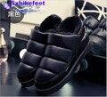 Envío Gratis tamaño Grande hombres zapatos versión Europea nuevo otoño y el invierno 2017 Del Equipamiento Casero Mianwa antideslizante 40-45 comodidad