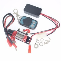 RC Crawler Automatic Winch Wireless Remote Control Receiver Set For 1 10 Axial SCX10 RC4WD D90