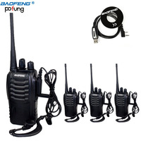 4 Pcs Lot Baofeng BF 888S Two Way Radio 5W Handheld Pofung Bf 888s For UHF