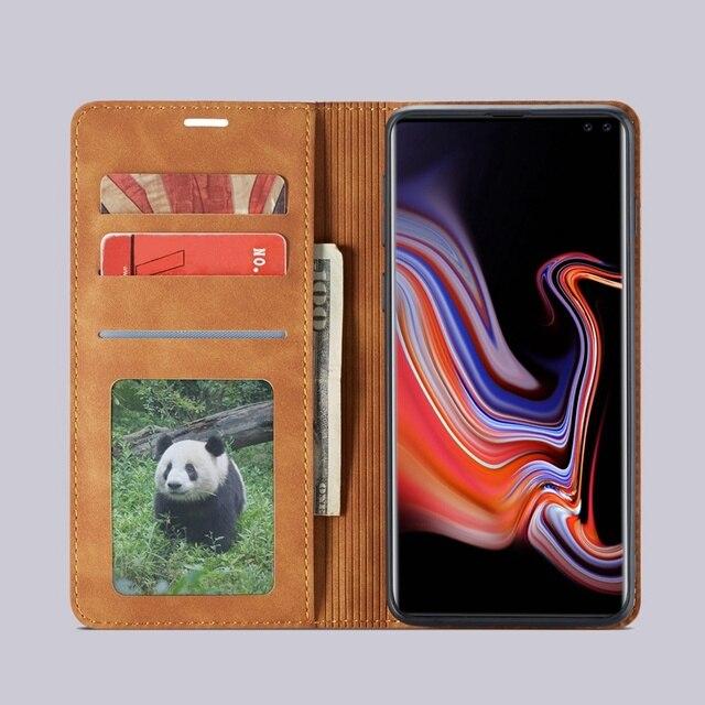 Flip Leather Wallet Galaxy S10 Case 2