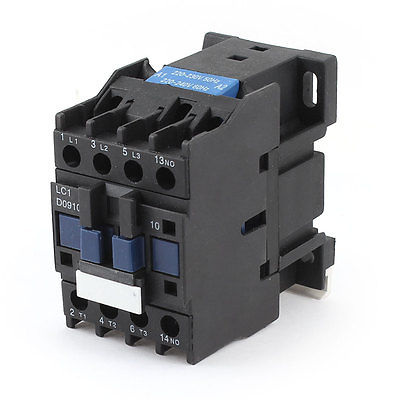 AC 220V 3 Phase Plastic Motor Control Contactor LC1-D0910 sayoon dc 12v contactor czwt150a contactor with switching phase small volume large load capacity long service life