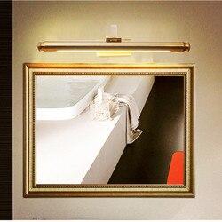 Amerykańska Rh Art Hotel łazienka Led lampa lustrzana kreatywny wodoodporna brązowy lampki nocne badania ściany światła darmowa wysyłka