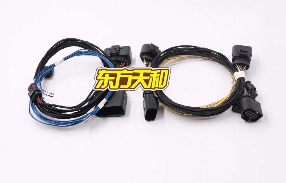 ФОТО VW Parking PLA Play&Plug 8K To 12K Install Harness Cable Wire For Passat B7 New CC