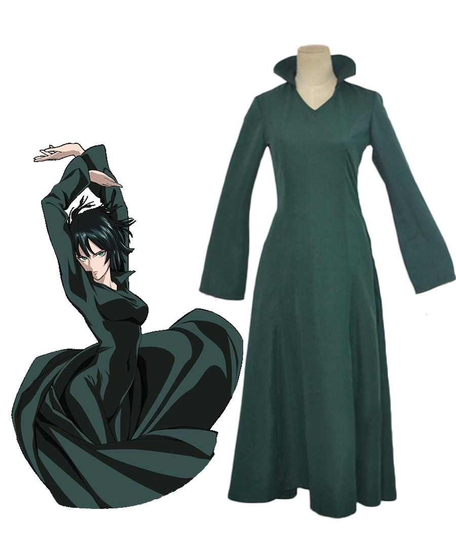 One-Punch Man Blizzard of Hell Fubuki Cosplay Costume