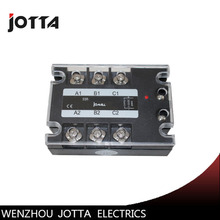 100A DC control AC SSR three phase Solid state relay