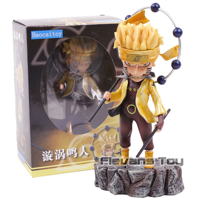 Naruto Shippuden Uzumaki Naruto / Uchiha Sasuke PVC Figure Statue Model Toy Collectible GK Figurine naruto action figures uchiha obito rikudousennin sharingan pvc model toy naruto shippuden movie anime figure obito light diy69