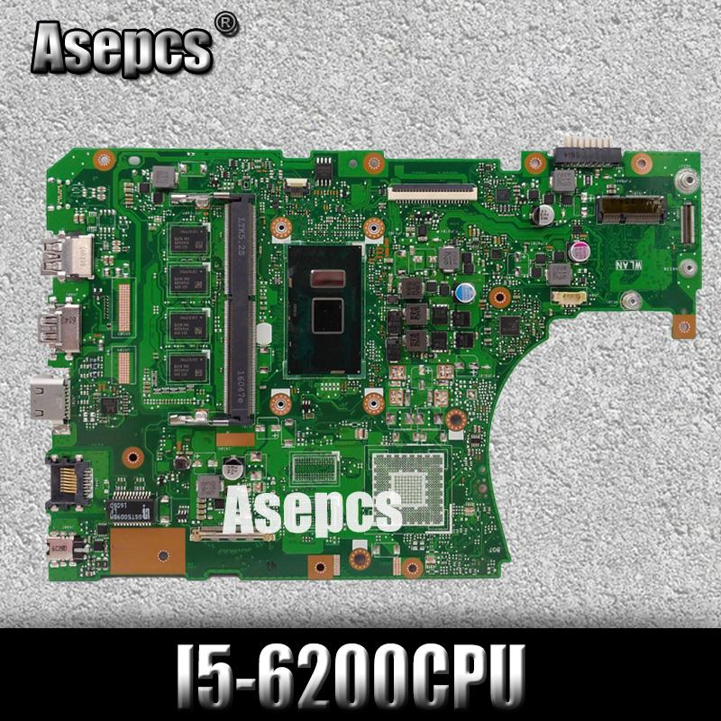 <font><b>X556UA</b></font>/X556UJ I5-6200CPU With 4GB DDR3L memory mainboard REV2.0 For <font><b>ASUS</b></font> <font><b>X556UA</b></font> X556UJ X556UV X556U laptop motherboard Tested image