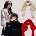 Luxury Brand Autumn and Winter with Men and Women with Scarf Sleeve Knitted Wool Scarves Spain Scarf Shawl  Bandanas