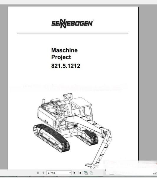 sennebogen full set shop manual electrical and hydraulic schematic rh aliexpress com Clark Forklift Replacement Parts Clark Forklift Parts Diagram