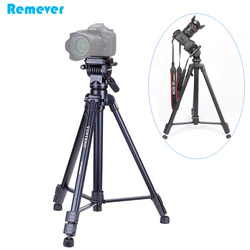 Professional Tripod with 360 degree Rotating Liquid Head Gimbal Stands Holder for SONY CANON Nikon DSLR Cameras for Photography