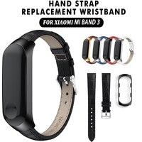 Watch Band per Xiao mi mi fascia 3 Sport della Vigilanza Della Cinghia Di Cuoio del Wristband Per Xiao mi Mi fascia 3 accessori braccialetto mi fascia 3 cinghia