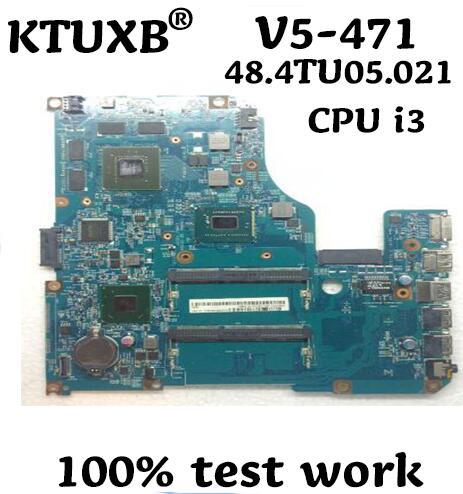 KTUXB 48 4TU05 021 motherboard for Acer V5 571 V5 471 notebook motherboard CPU i3 HM76