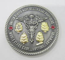 Free Design Customized Wholesale Price Cheap Antique color souvenir Coin