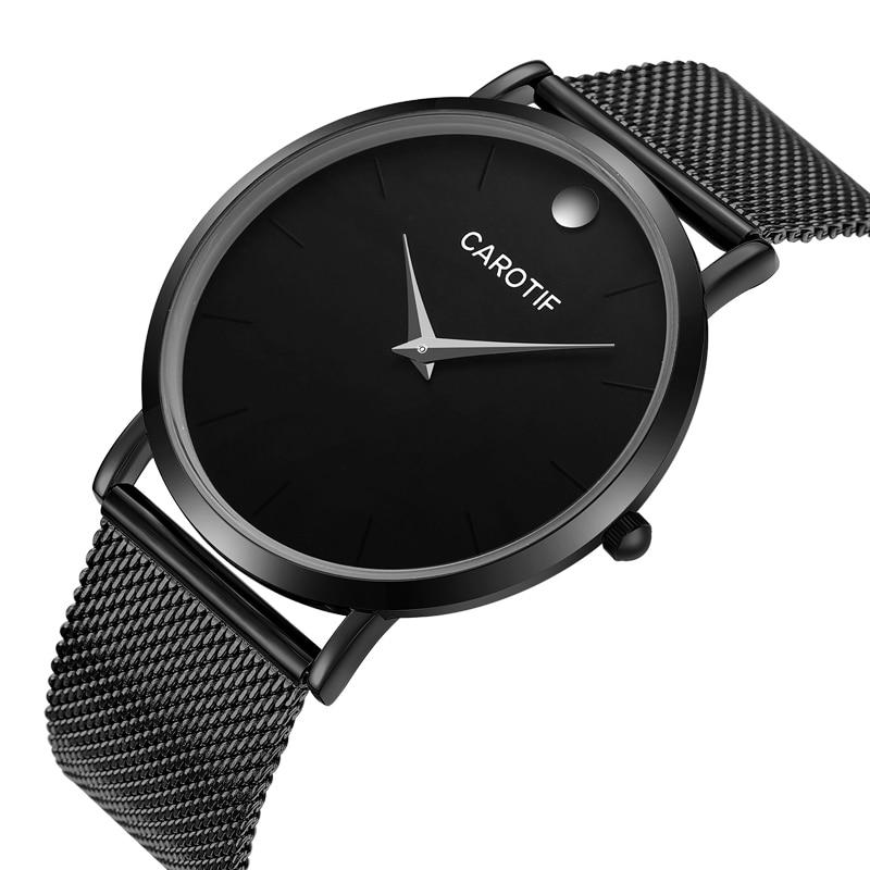 Carotif Luxury Waterproo Business Casual kwarcowe zegarki na - Męskie zegarki - Zdjęcie 3