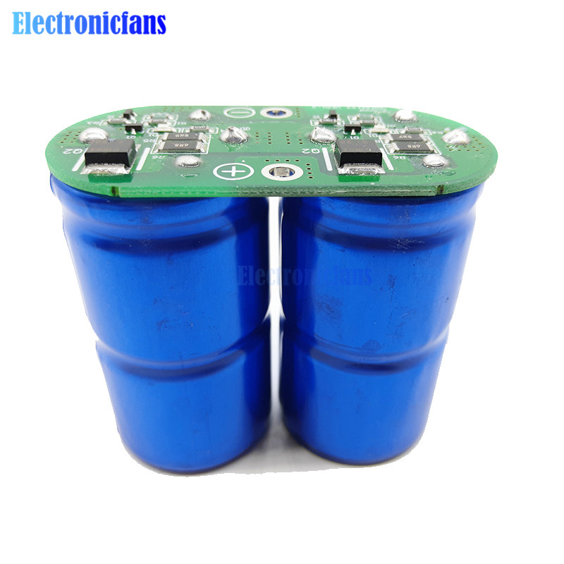 Super Farah Capacitor Module 2.7V 500F Ultralow Resistance 5.4V 250F General Purpose Super Capacitor New