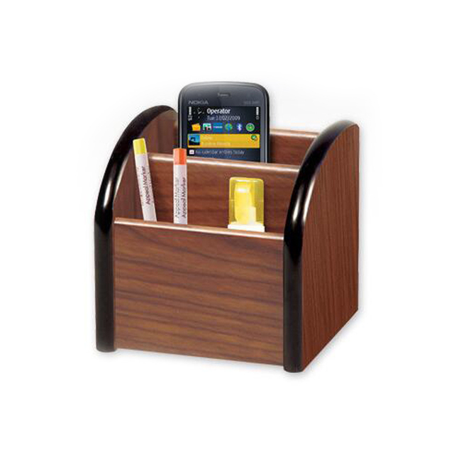 High Quality Wooden Pen Holder Stationery Pots Desk Organizer Pencil Stands Office School Supplies