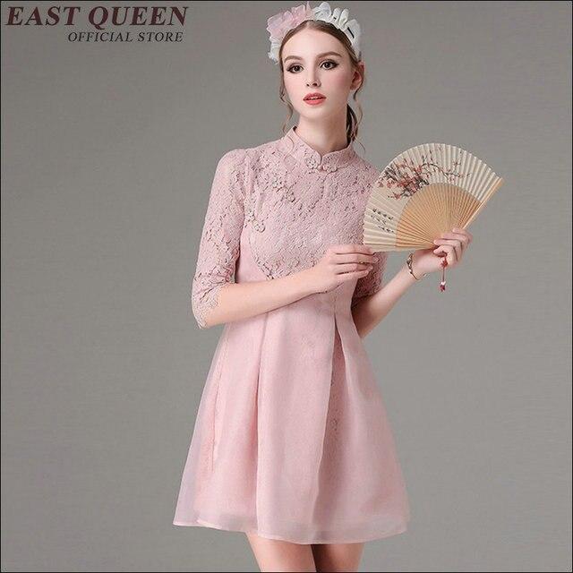 Новые поступления 2018 модная одежда Китай oriental платье qipao брендовая  фарфоровые вещи китайское традиционное KK1226 b6bb1ea1475