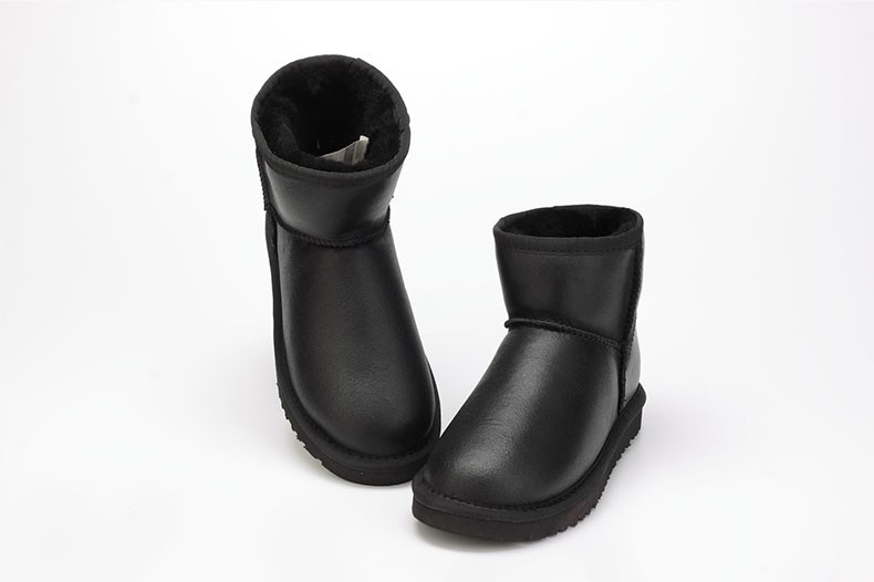 Подробнее о Australia new Hot Sale High Quality Women Snow Boots Winter Warm Genuine Sheepskin Leather 100% Natural Fur Women Ankle Boots genuine sheepskin leather snow boots hot sale women100