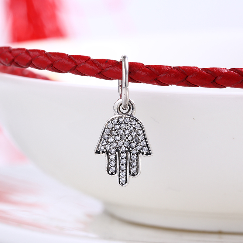 High Quality Authentic Finger charms silver S925 Logo Fit Pandora Bracelet 925 original Beads for jewelry Making Gift