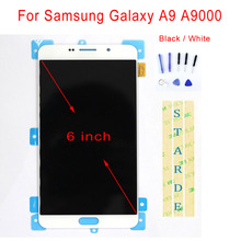 цена на STARDE Replacement LCD For Samsung Galaxy A9 A9000 LCD Display Touch Screen Digitizer Assembly 6
