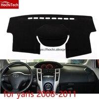 For Toyota Yaris L Yaris 08 16 Double Layer Silica Gel Car Dashboard Pad Instrument Platform