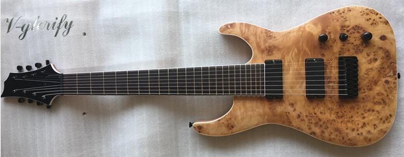 все цены на good quality mahogany solid wood 8 string electric guitar онлайн