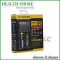 New Arrivals Geunine Nitecore i2 charger for for 16340 10440 AA AAA 14500 18650 26650 Battery Nitecore Charger EU/US/UK Plug