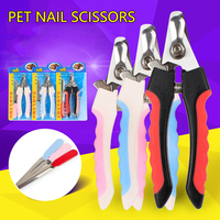 Pet Nail Clippers Stainless Steel Small Pliers Rasp Pet Products Dog Supplies Well Designed Homehold
